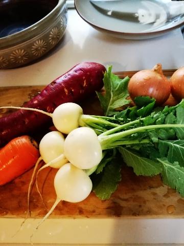 野菜スープ追記